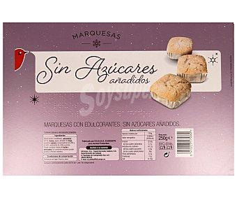 Auchan Marquesas sin azúcares añadidos 250 gramos