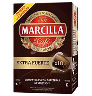 Marcilla Capsulas extrafuerte 10 UNI