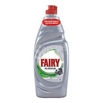 Fairy Lavavajillas Platinum Botella 650 ml