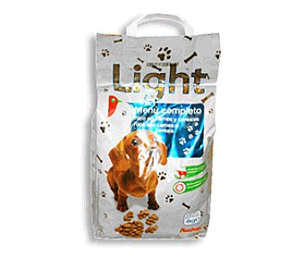 Auchan Comida Seca Light para Perros. Croquetas Bolsa de 4 Kilogramos