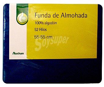 Productos Económicos Alcampo Funda Almohada 55x55 Azul 1 unidad