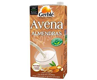 Gerblé Bebida de avena con almendras Envase 1 l