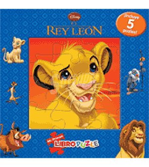 Disney El rey león Mi primer libropuzle Disney