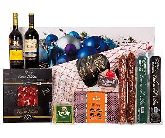 Cesta de Navidad de Galindo lote Nº 513
