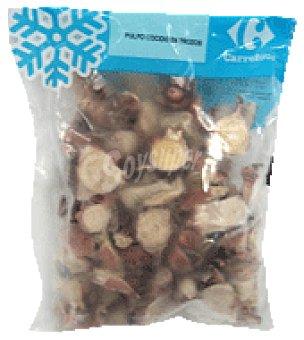 Carrefour Pulpo cocido troceado congelado Bolsa de 500 g