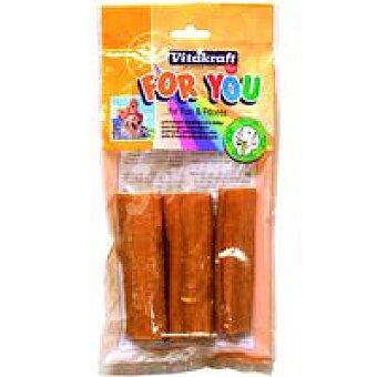 Vitakraft Snack natural piel de cerdo perro Paquete 60 g