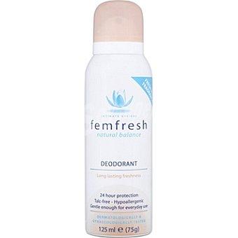 FEMFRESH Desodorante íntimo fresh protección 24h Spray 125 ml