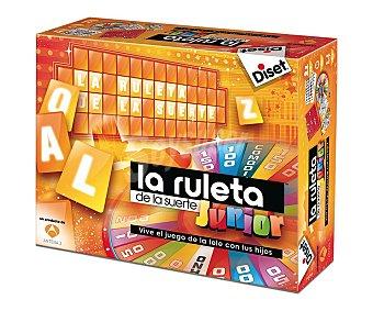 DISET Juego de Mesa La Ruleta de la Suerte, Edición Junior, de 2 a 4 Jugadores 1 Unidad