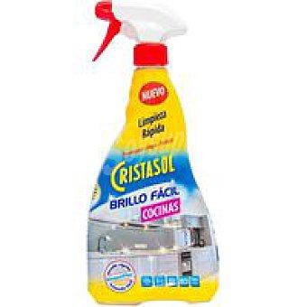 Cristasol Ajax Limpiador para cocina brillo facil 750 mililitros