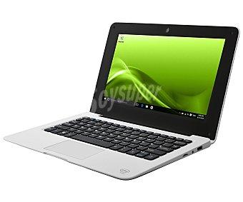 """Selecline Ordenador portátil netbook con pantalla de 10,1"""" selecline 852599 (producto económico alcampo) blanco, procesador: Intel Z3735F, Ram: 2GB, almacenamiento: 32GB, gráfica: Intel HD Graphics, Windows 10 CW10Q3"""