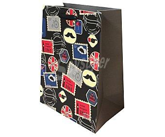 DMM Bolsa de regalo diseño Hipster. , 18x23x10 centímetros, 210 gramos