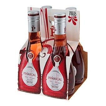 Peñascal Vino de aguja rosado Pack 4x18,7 cl