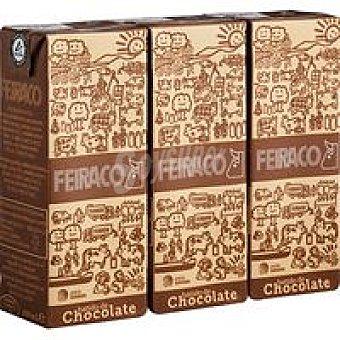 Feiraco Batido chocolate 3X200ML
