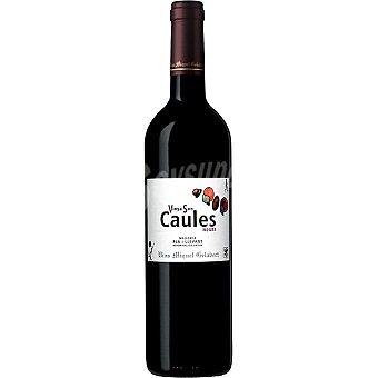 MIQUEL GELABERT Vinya son Caules Negre vino tinto crianza D.O. Pla i Llevant botella 75 cl Botella 75 cl
