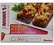 Baguettes de jamón y queso 2 x 125 g Auchan