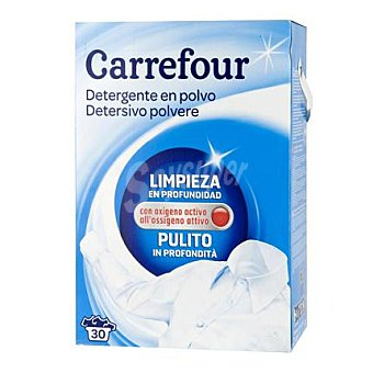Carrefour Detergente en polvo 30 cacitos