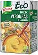 Puré de verduras de la huerta ecológico  Envase 1 l Knorr