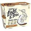 Yogur desnatado triple zero coco 4x125g 4x125g Danone