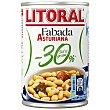Fabada asturiana menos 30% sal y M.G. lata 435 gr lata 435 gr Litoral