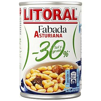 Litoral Fabada asturiana -30% sal y grasas Lata 435 g