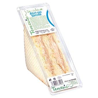 TENTEBIEN Sándwich de atún con tomate Envase 125g