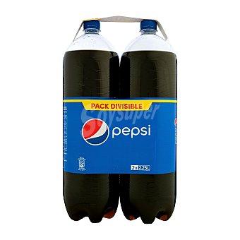 Pepsi Refresco de cola Pack 2 pets x 2,25 l