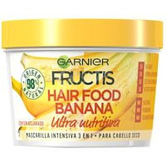 Fructis Garnier Mascarilla cabello seco banana Tarro 390 ml