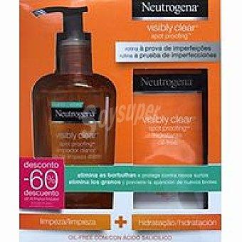 Neutrogena Pack Hidratante+Limpiador Acné pack 1 unid