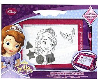 Disney Pizarra Mágica Princesa Sofía, Incluye Lápiz, Borrador y Figuras Magnéticas 1 Unidad
