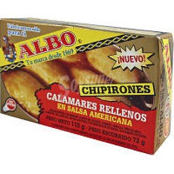 Albo Chipirón relleno en salsa americana Lata 115 g
