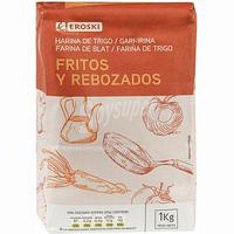 Eroski Harina de trigo para fritos Paquete 1 kg