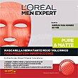 Mascarilla hidratante rojo volcánico Pure & Matte para pieles con imperfecciones sobre 1 unidad sobre 1 unidad L'Oréal Men Expert