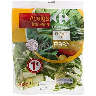 Carrefour Acelgas cortadas Bolsa de 300 g