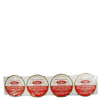 Barrero Pasta de sardinas Pack de 4x22 g