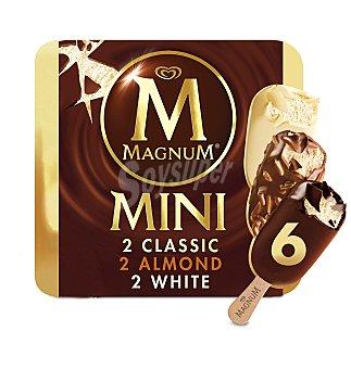 Magnum Frigo Helado snack size 6 unidades
