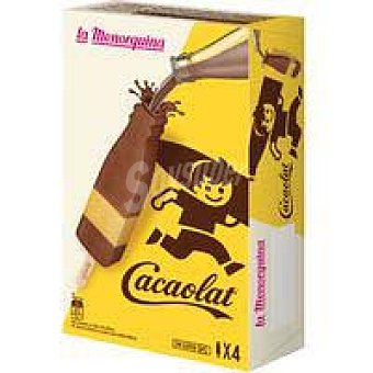 La Menorquina Lamenorqui Helado Cacaolat LA menorquina,
