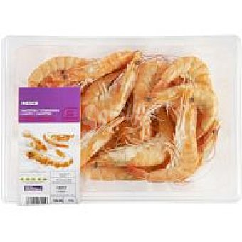 Eroski Langostino cocido 30-40 Bandeja 500 g