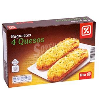 DIA Baguette 4 quesos Pack 2 uds