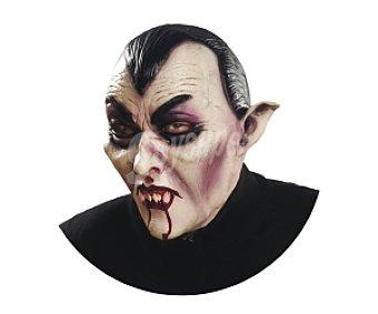 MY OTHER ME Complemento para disfraz Halloween, Máscara de cara completa Vampiro Máscara Vamipiro