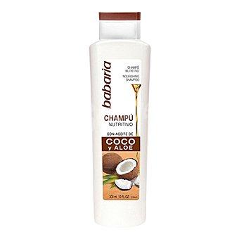 Babaria Champú con aceite de coco y aloe vera 300 ml