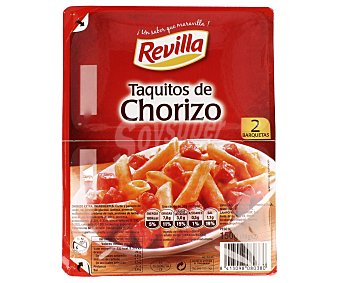Revilla Taquitos de chorizo 150 g