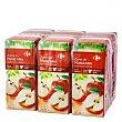 Zumo de manzana Pack de 6 briks de 20 cl Carrefour