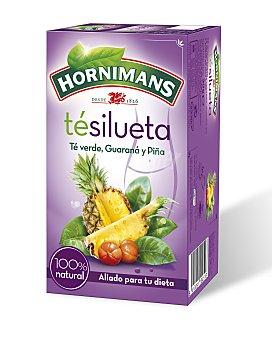 Hornimans Té Slim verde y guaraná y piña estuche 20 sobres Estuche 20 sobres