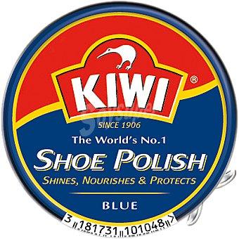 Kiwi Limpia calzado crema azul Lata 50 ml