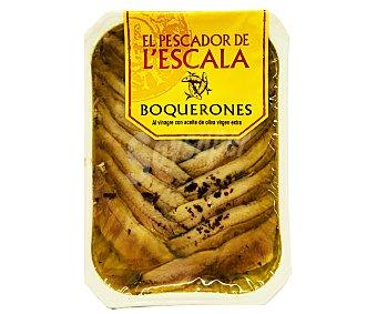 ELS PESCADORS DE L'ESCALA Boquerón en vinagre, en aceite de oliva virgen extra EL pescador 80 Gramos