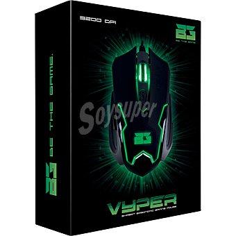 B-MOVE Ratón Óptico Gaming en color negro y verde