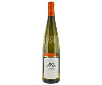 VIÑAS DEL VERO 75cl Vino blanco riesling con denominación de origen Somontano viñas DEL vero botella de 75 centilitros 75cl