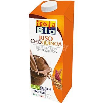 ISOLA BIO Choquinoa Bebida de arroz con quinoa cacao ecológica sin gluten Envase 1 l