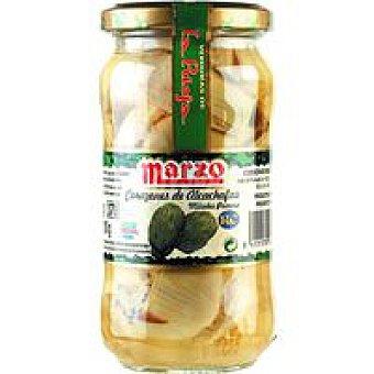Marzo Alcachofa natural en mitades Tarro 210 g