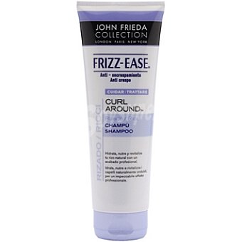 JOHN FRIEDA Frizz Ease Champú Curl-Around para cabello rizado anti encrespamiento Frasco 250 ml